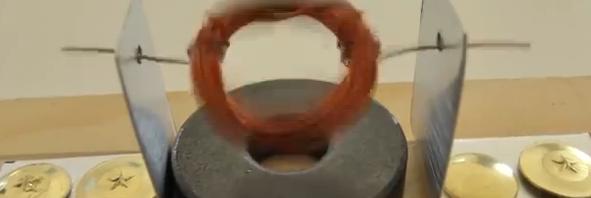 Ηλεκτροκινητήρας από απλά υλικά