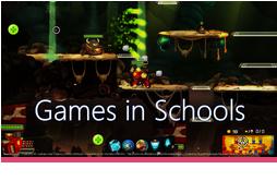 Διαδικτυακό σεμινάριο Games in Schools