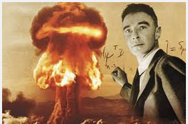 Robert Oppenheimer. Ο πατέρας της ατομικής βόμβας.