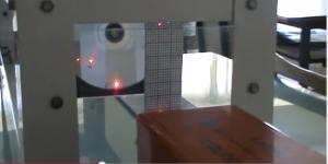 laser He-Ne επί CD: Περίθλαση εξ ανακλάσεως και συμβολή